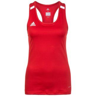 adidas Team 19 Compression Funktionstank Damen rot / weiß