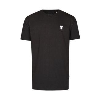 Cleptomanicx Toast T-Shirt Herren Black