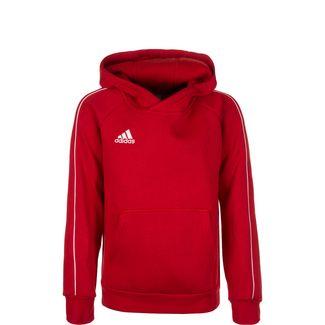 adidas Core 18 Hoodie Kinder rot / weiß