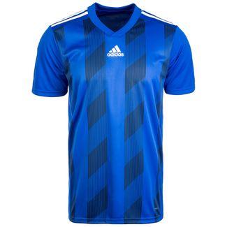adidas Striped 19 Fußballtrikot Herren blau / weiß