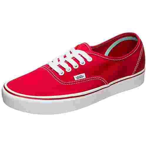 Vans Authentic ComfyCush Sneaker rot / weiß