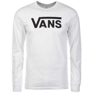Vans Classic Langarmshirt Herren weiß / schwarz