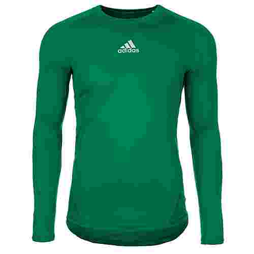 adidas AlphaSkin Sport Funktionsshirt Herren grün