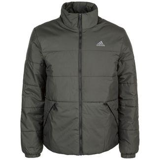 adidas BSC 3 Stripes Insulated Trainingsjacke Herren dunkelgrün