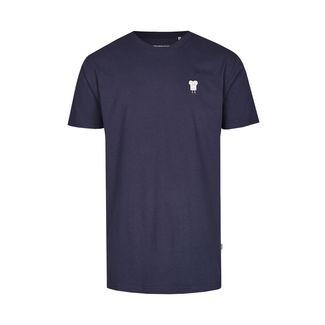 Cleptomanicx T-Shirt Herren Dark Navy
