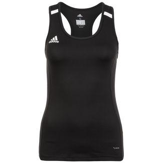 adidas Team 19 Funktionstank Damen schwarz / weiß