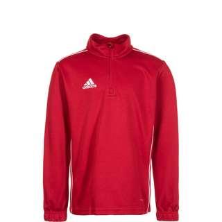 adidas Core 18 Funktionsshirt Kinder rot / weiß