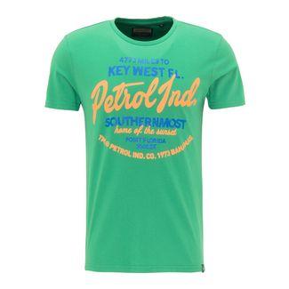 Petrol Industries Printshirt Herren Bright Green