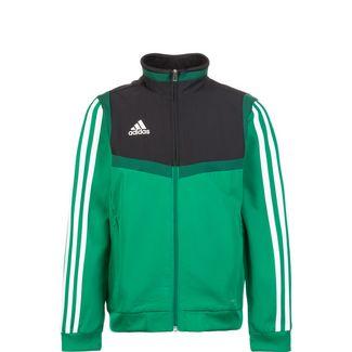 adidas Tiro 19 Trainingsjacke Kinder grün / schwarz