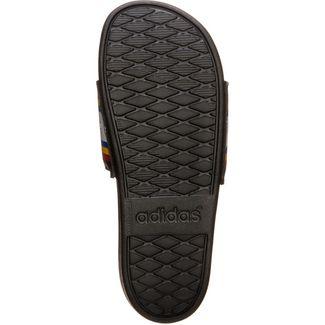 adidas Comfort Sandalen Damen schwarz / bunt