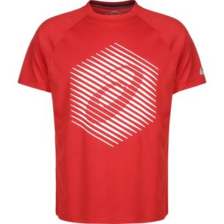 ASICS True Performance Graphic Laufshirt Herren rot / weiß