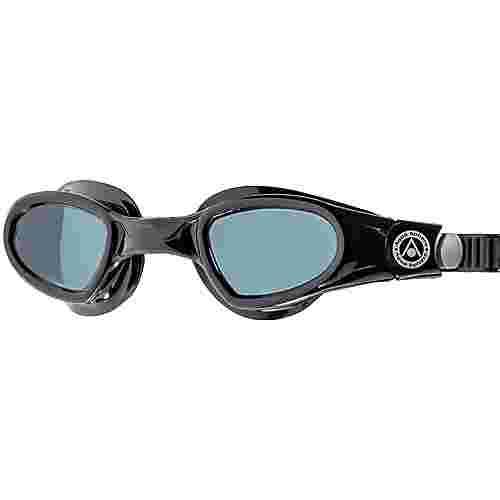 phelps Mako Schwimmbrille smoke lens;black black