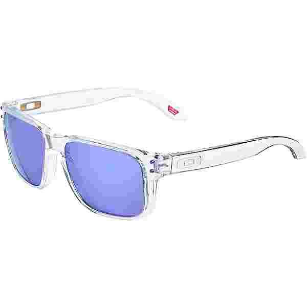 Oakley HOLBROOK XS Sonnenbrille polished clear;violet iridium