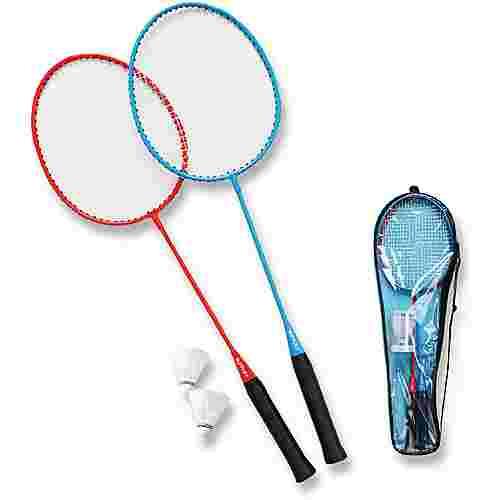 Sunflex Matchmaker 2 Badminton Set schwarz