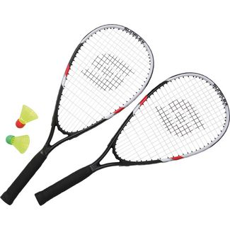 Sunflex SONIC SPEED SET II Badminton Set schwarz