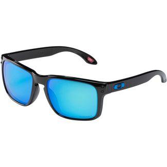 Oakley Holbrook Sonnenbrille Polished Black/ Prizm Sapphire