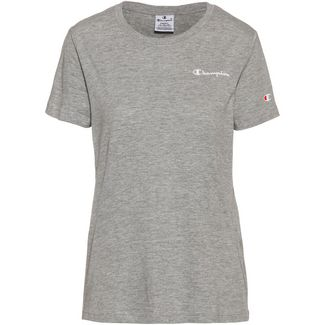 CHAMPION T-Shirt Damen oxford grey oxg melange yarn dyed