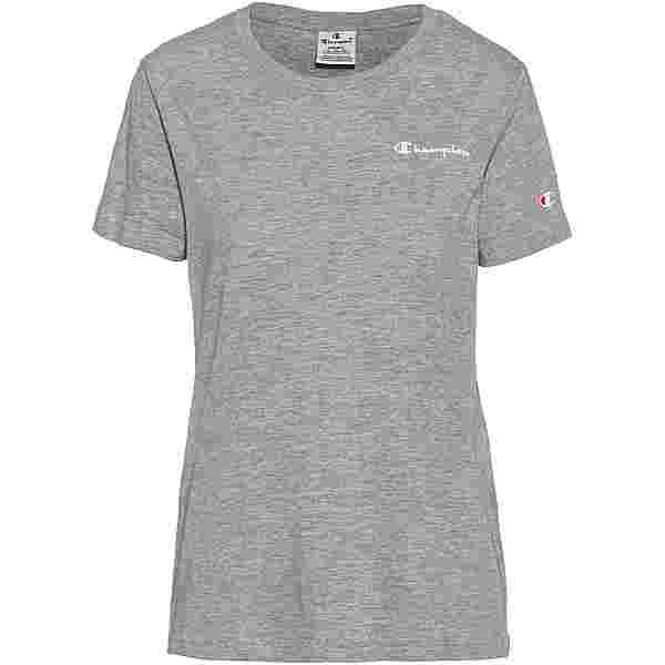 CHAMPION T-Shirt Damen oxford grey oxg melange yarn dyed