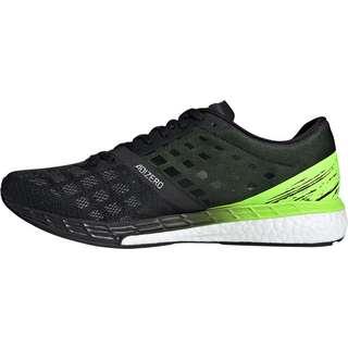 adidas adizero Boston 9 Laufschuhe Herren core black-core black-signal green