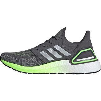 adidas Ultraboost 20 Laufschuhe Herren grey five-silver met.-signal green