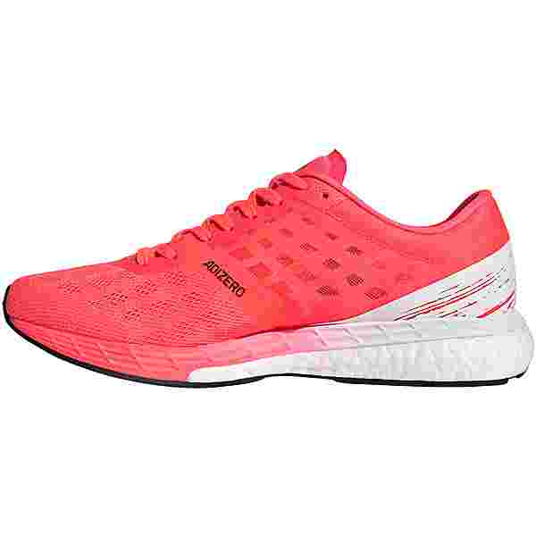 adidas adizero Boston 9 w Laufschuhe Damen signal pink-core black-copper met