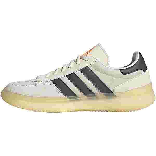 adidas HB Spezial Boost Hallenschuhe Herren orange tint-chalk white-grey six
