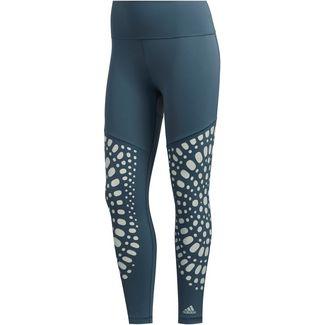 adidas Yoga Tights Damen legacy blue