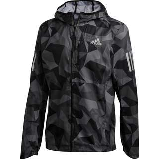 adidas OWN THE RUN Laufjacke Herren metal grey