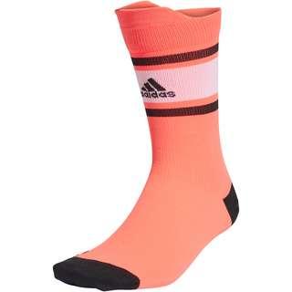 adidas ALPHASKIN Laufsocken signal pink