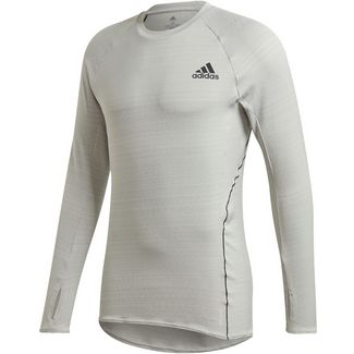 adidas ADI RUNNER Funktionsshirt Herren metal grey
