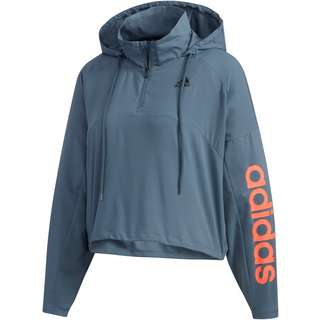adidas Hoodie Damen legacy blue
