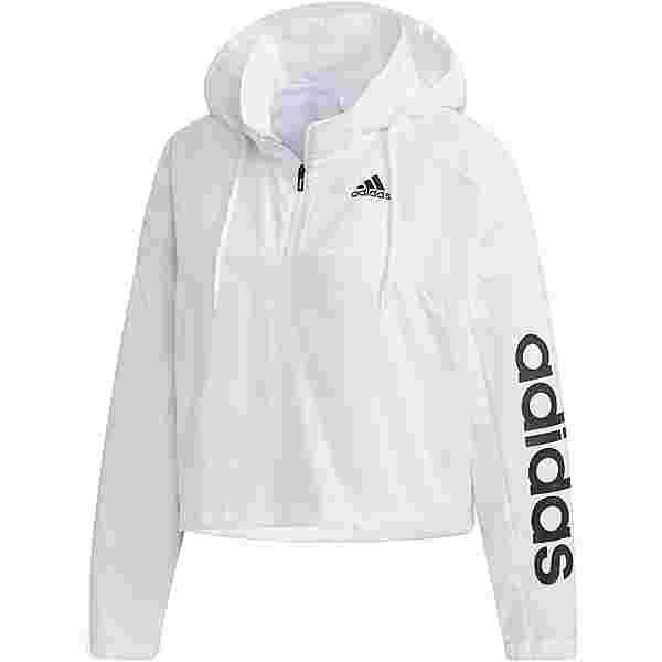 adidas Hoodie Damen white