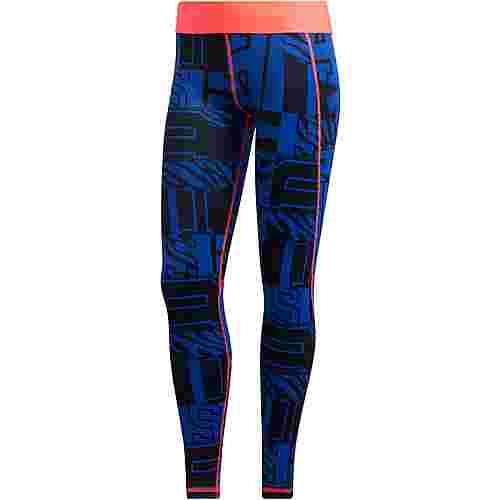adidas Alphaskin Tights Damen team royal blue
