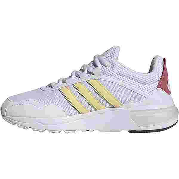 adidas 90s Runner Sneaker Damen ftwr white-orange tint-trace maroon