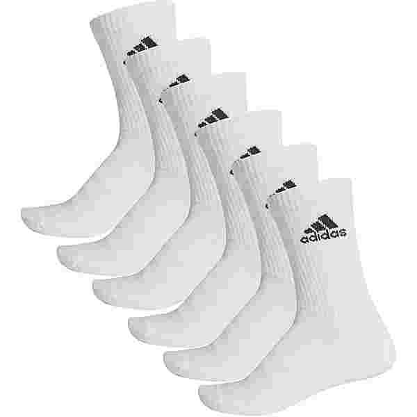 adidas Cush Crew Essentials Socken Pack white