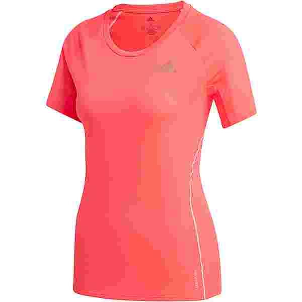 adidas RUNNER SUPERNOVA AEROREADY Funktionsshirt Damen signal pink