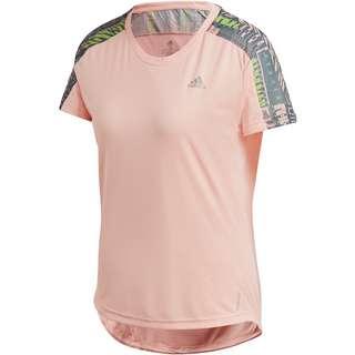 adidas Own the Run Funktionsshirt Damen haze coral