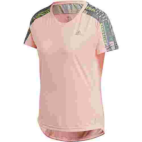 adidas Own the Run Funktionsshirt Damen haze coral