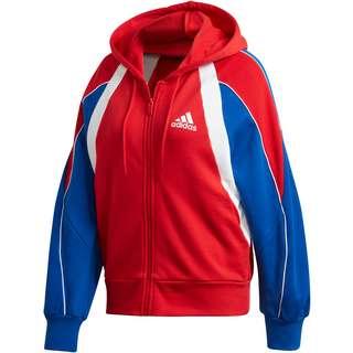 Adidas Team 19 Trainingsjacke Damen rot weiß im Online