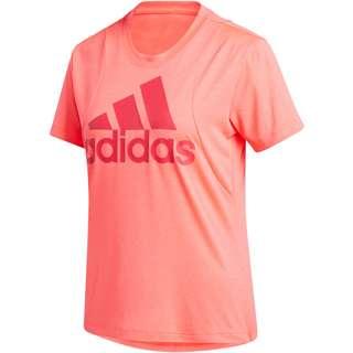 adidas Batch of Sport Funktionsshirt Damen signal pink