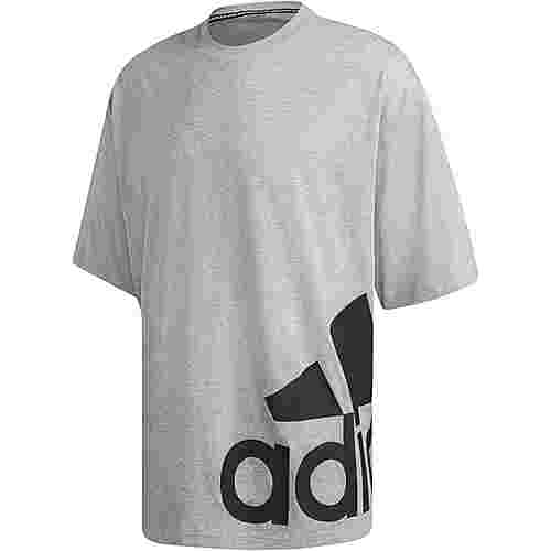 adidas MH Boxbos T-Shirt Herren medium grey heather