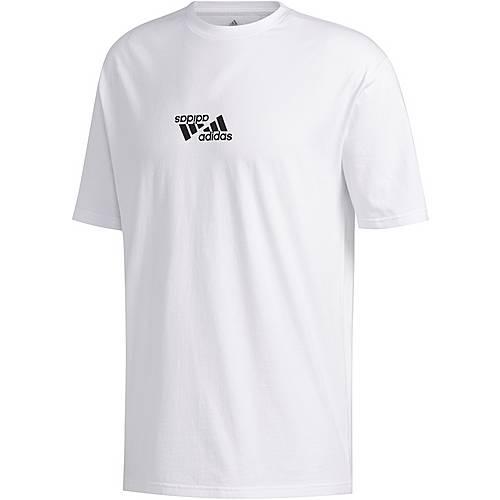 Adidas T Shirt Herren white im Online Shop von SportScheck