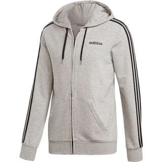 adidas 3S Sweatjacke Herren medium grey heather