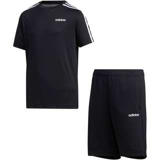 adidas YB TR 3S SET Trainingsanzug Kinder black