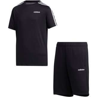 adidas YB TR 3S SET Funktionsshirt Kinder black