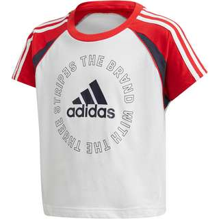 adidas Bold T-Shirt Kinder white