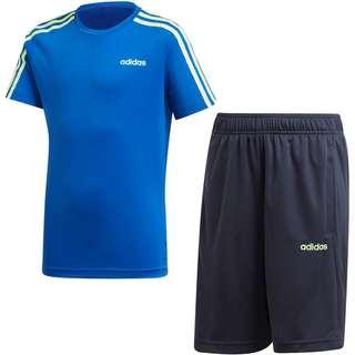 adidas YB TR 3S SET Trainingsanzug Kinder team royal blue