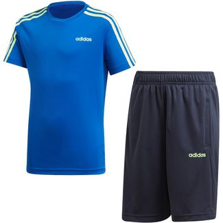 adidas YB TR 3S SET Trainingsanzug Kinder team royal blue