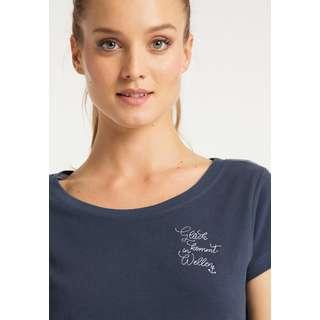 DreiMaster Printshirt Damen Marine