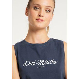 DreiMaster Tanktop Damen marine